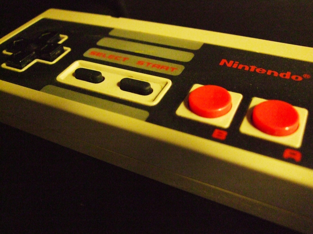nes controler edited