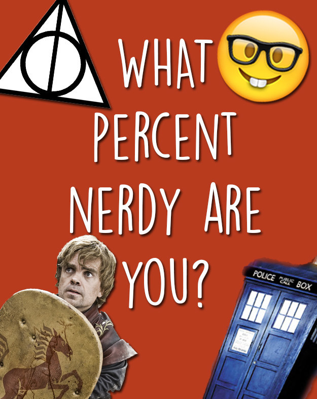 what percent nerdy