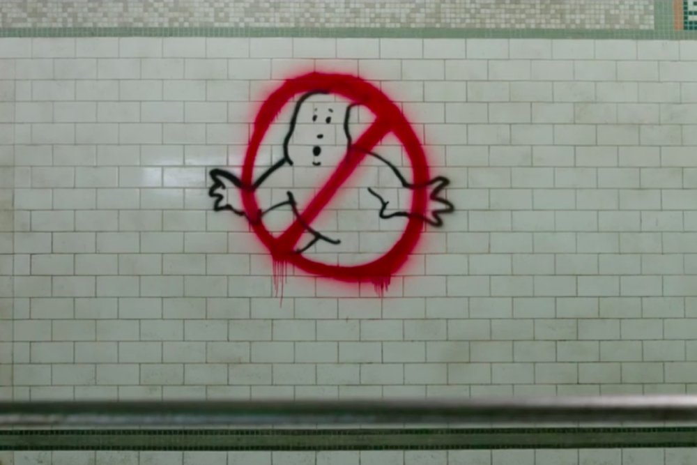 ghostbusters 2016 subway